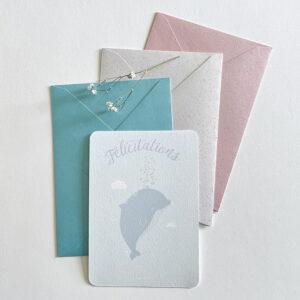 carte naissance félicitations dauphin