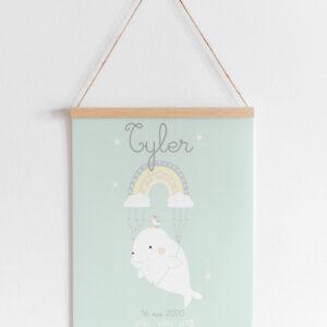 affiche naissance beluga